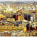 Boston Beantown Rooftops Digital Art by A Gurmankin