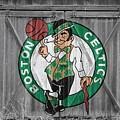 Boston Celtics Barn Doors by Joe Hamilton