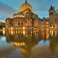 Boston Christian Science Building Reflecting Pool by Toby McGuire