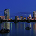 Boston City Lights by Juergen Roth