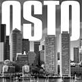 Boston Cityscape by David Richardson