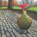 Boston Ducklings Getting Their Pink On by Lynn Ricci