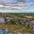 Boston From Quincy Quarries by Brian MacLean