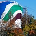 Boston Gas Tank  by Bill Driscoll