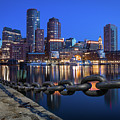 Boston Harbor Blue by Colin Chase
