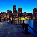 Boston Harbor Walk by Rick Berk