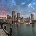 Boston Harbor  by Xavier B