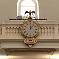 Boston Historical Meeting Room Clock by Michelle Himes