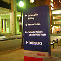 Boston Medical At Night by Heather Weikel