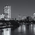 Boston Night Skyline V by Clarence Holmes