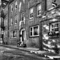 Boston North End Neighborhood Street by Joann Vitali