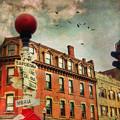 Boston North End - Vintage by Joann Vitali