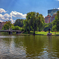 Boston Public Garden by Rick Berk