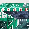 Boston Retired Numbers by James Lagasse