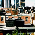Boston Roof Tops by Gabe Art Inc