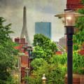 Boston Scenes - Charlestown, Ma by Joann Vitali