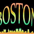 Boston Skyline 10 by Andrew Fare