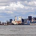 Boston Skyline by Armand Hebert