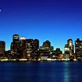 Boston Skyline by By Eric Lorentzen-Newberg