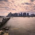 Boston Skyline by Chris Bordeleau