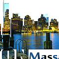 Boston Skyline by Don Kuing