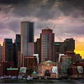 Boston Skyline by Doug Grannell