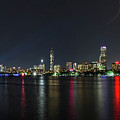 Boston Skyline  by Larry Richardson