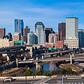 Boston Skyline Panorama 2 by Brian MacLean