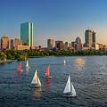 Boston Skyline Summer 2018 by Rick Berk