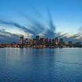 Boston Skyline by Tito Santiago