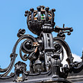 Boston Subway Station Ironwork Detail by Val Black Russian Tourchin