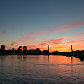 Boston Sunset by Dave Files