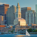 Boston Sunset Sail by Susan Cole Kelly