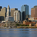 Boston Waterfront by Steve  Gass