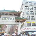 Boston's Chinatown  by Amanda D