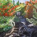 Botanic Garden Merano 1 by Valerie Ornstein