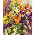 Botanical Abstraction, Study One by Betsy Derrick
