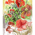 Botanical Abstraction, Study Two by Betsy Derrick