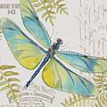 Botanical Dragonfly-jp3423b by Jean Plout