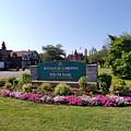 Botanical Gardens Floral Landscaped Entrance  by Elizabeth Duggan