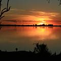 Botswanna Sunset by Karen Zuk Rosenblatt