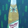 Bottle Of Miller Beer by Patrice Tullai