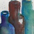 Bottles 3  by Britta Zehm