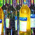 Bottles Of Wine by Deborah Selib-Haig DMacq