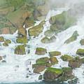 Bottom Of American Niagara Falls by Robert Edgar