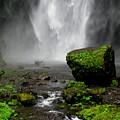 Bottom Of Wakeena Falls by PJ  Cloud