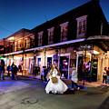 Boubon Bride - New Orleans by Michael Rivera