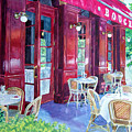 Bouchon Restaurant Outside Dining by Gail Chandler