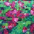 Bouganvillea - Tiled by Wanda Pepin