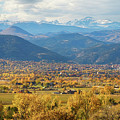 Boulder Colorado Autumn Scenic View by James BO Insogna